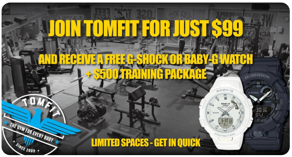 Tomfit Joining Offer