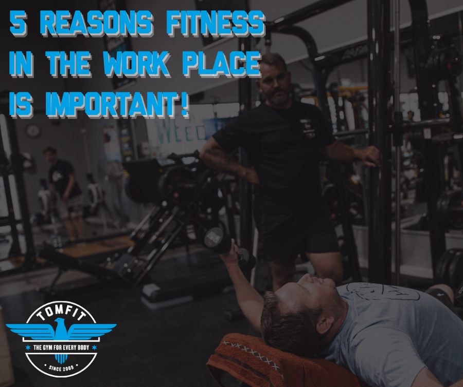 5 Reasons why fitness in the work place is important